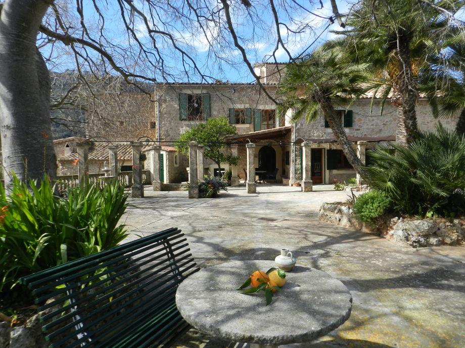 Haus Palmeras mit Terrasse