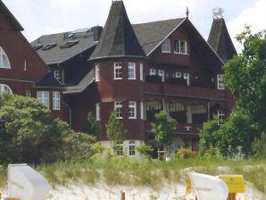 Ferienwohnung in der Villa Vineta, mit Meerblick (2 Zimmer-Whg.)