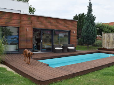 """Holiday apartment """"Living by Stünzer Park""""."""