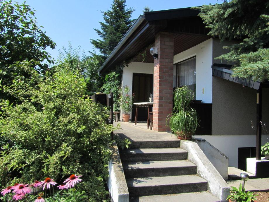 Außenansicht des Ferienhaus Radig in Pössneck