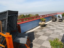 Ferienwohnung Penthouse mit Seesicht Terrassenhaus