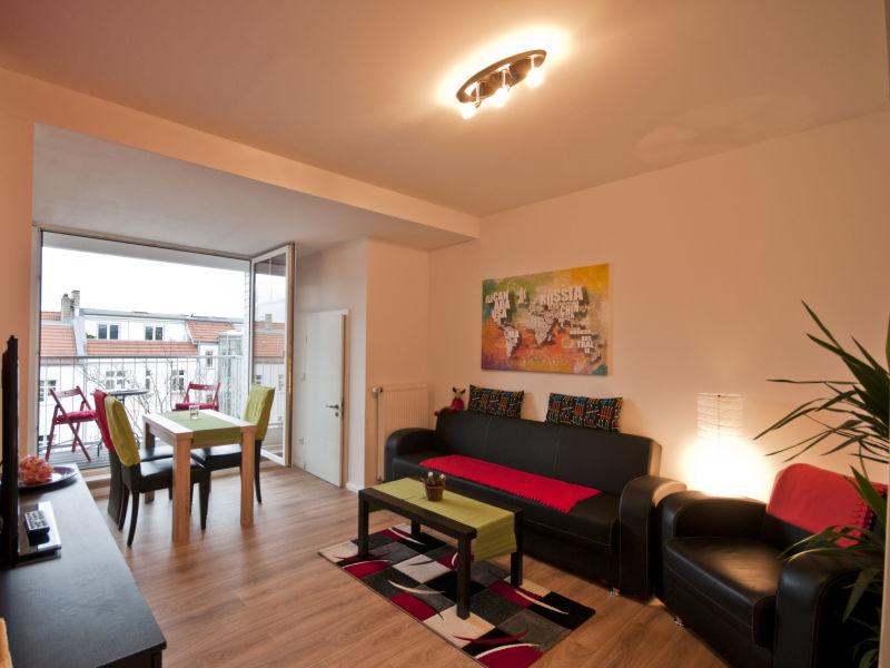 Ferienwohnung 3-Zimmer-Dachgeschosswohnung mit Balkon #501