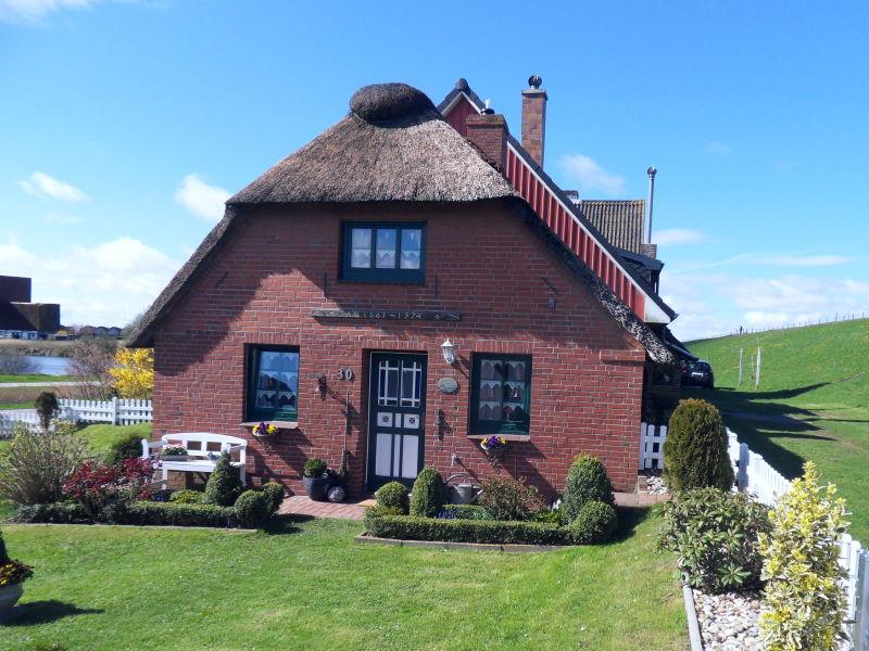 Ferienhaus Reetdachkate am Nordseedeich