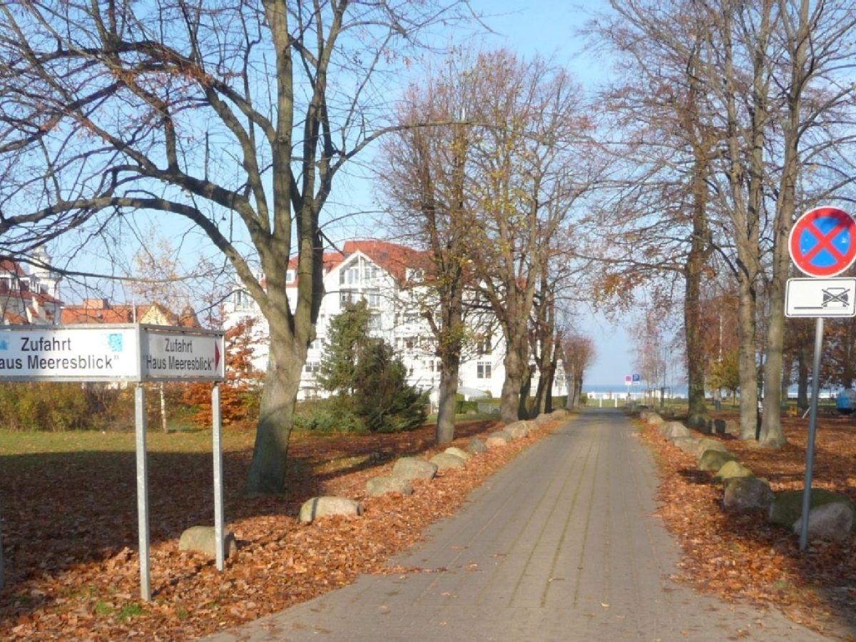 Ferienwohnung Wohnung 3 22 Haus Meeresblick Kühlungsborn