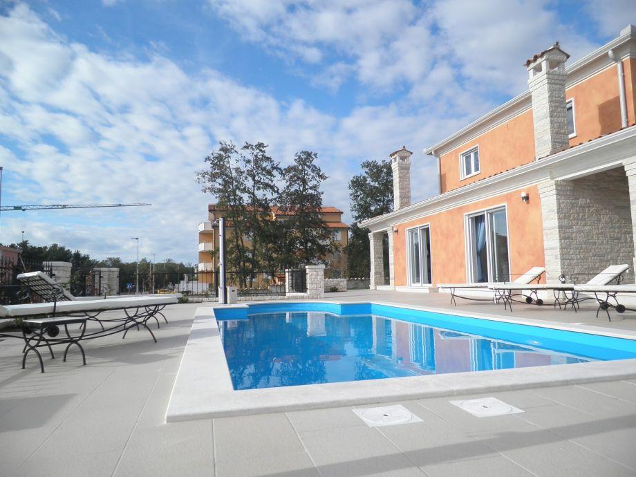 Außenaufnahme Modern Villa