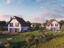 Villa Strandnahe Superior-Reetdachvilla mit Boddenblick