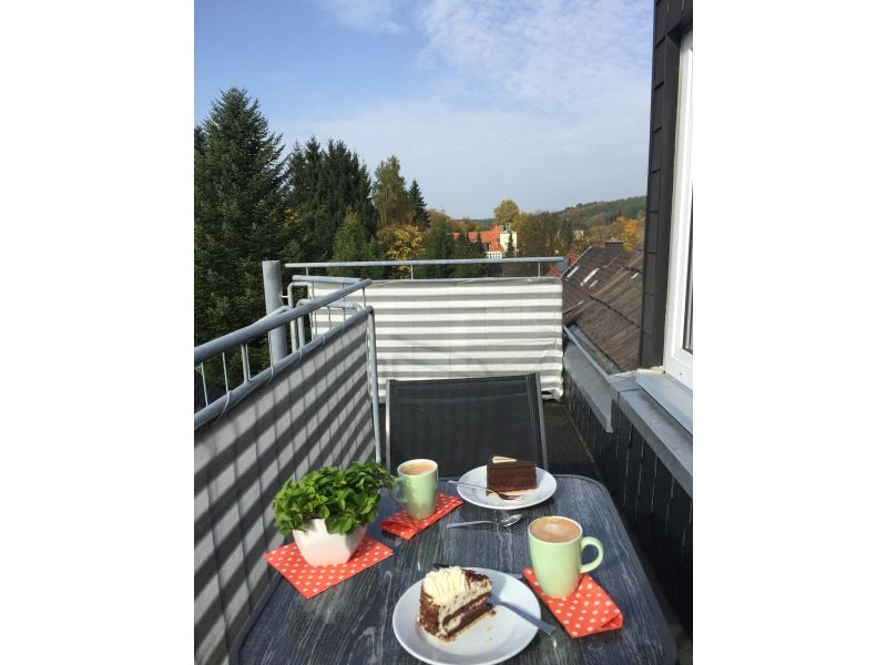 Holiday apartment on the 'Bahntrassenradweg' (cycle path along an old railway line)