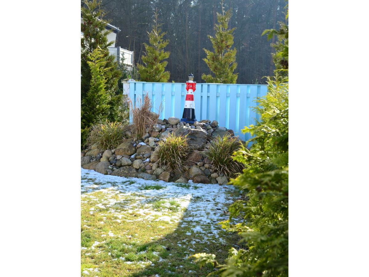 Ferienhaus zum leuchtturm usedom frau karen friedrich - Maritimer garten ...