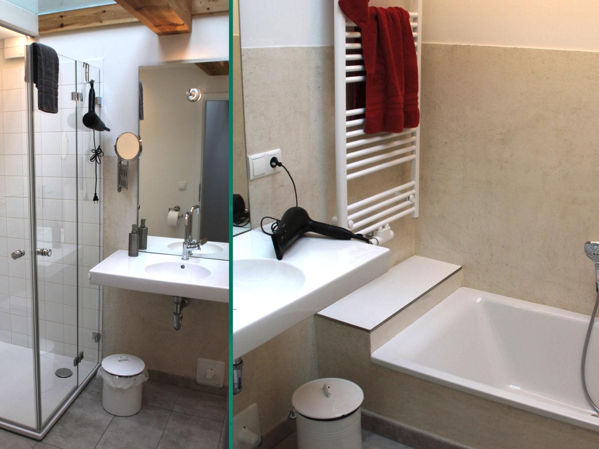 Gutshof ferienwohnung alter pferdestall schleswig for Kacheln badezimmer