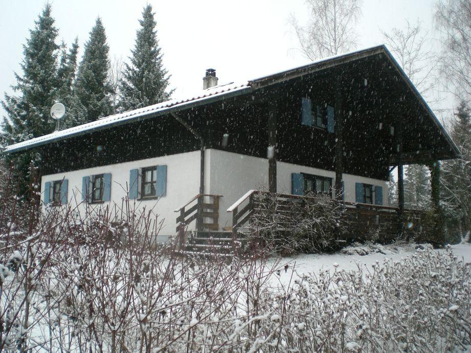 Winteransicht Terrassenseite
