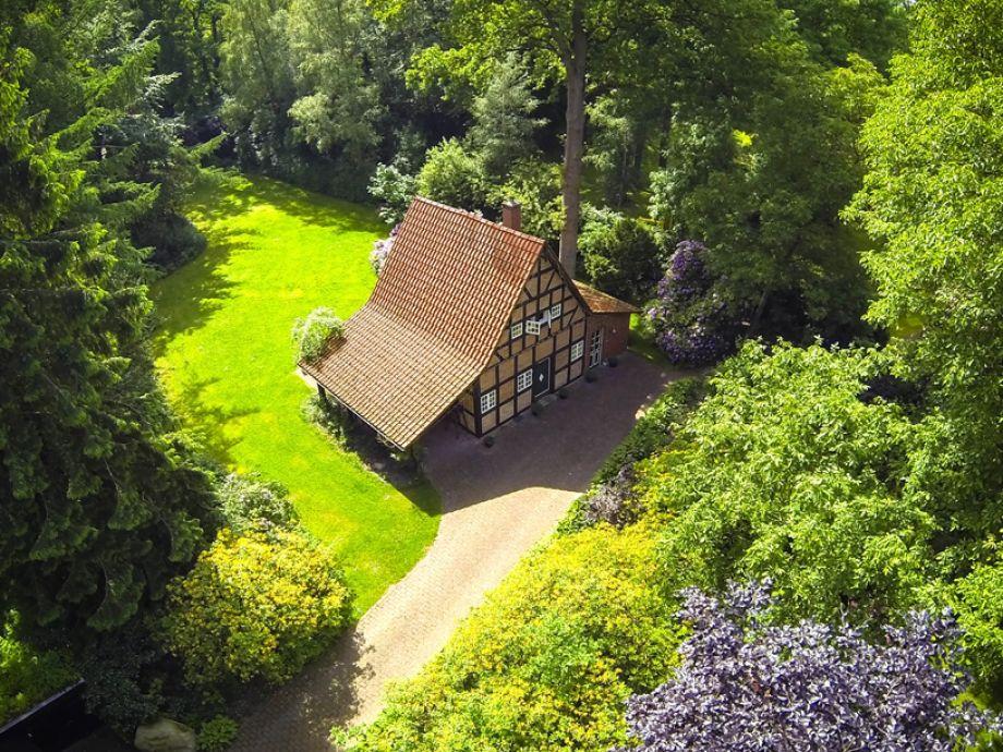Luftbild Ferienhaus Armsen Mai 2014
