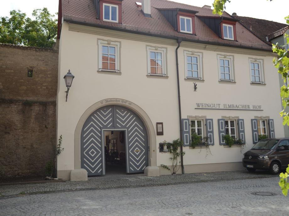 Gutshaus Weingut Ilmbacher Hof