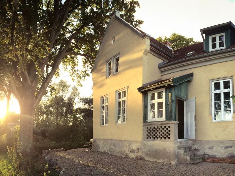 """Ferienwohnung """"Garten"""" Pfarrhaus Mödlich"""
