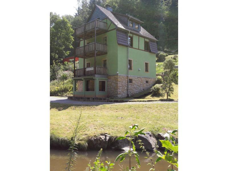 Ferienwohnung im Ferienhaus zum Kirnitzschtal