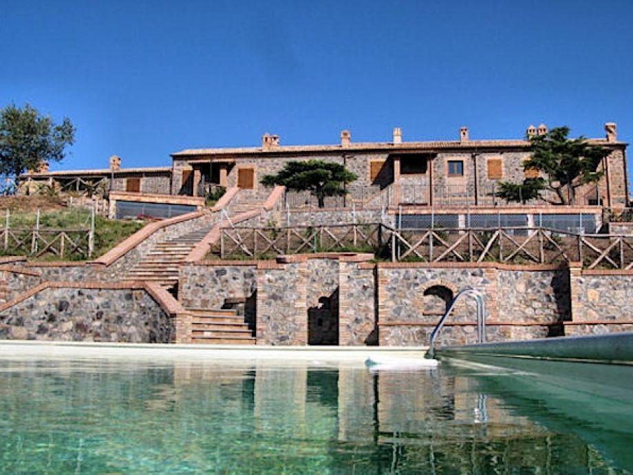 imposantes Anwesen mit pool