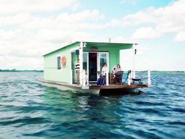 """Hausboot """"Tammy 2"""" auf dem Ostseefjord Schlei"""