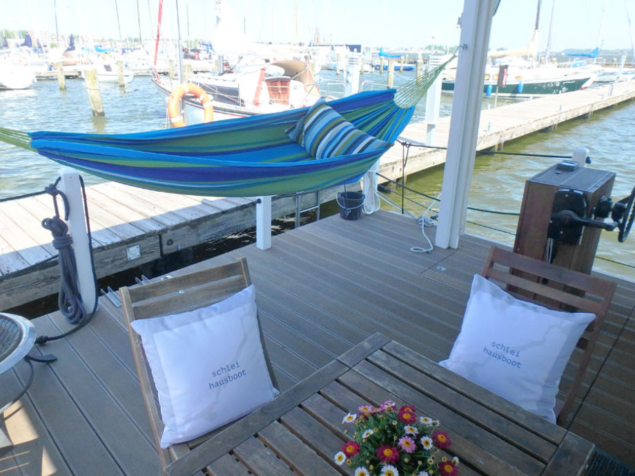 hausboot tammy 2 auf dem ostseefjord schlei schleswig. Black Bedroom Furniture Sets. Home Design Ideas