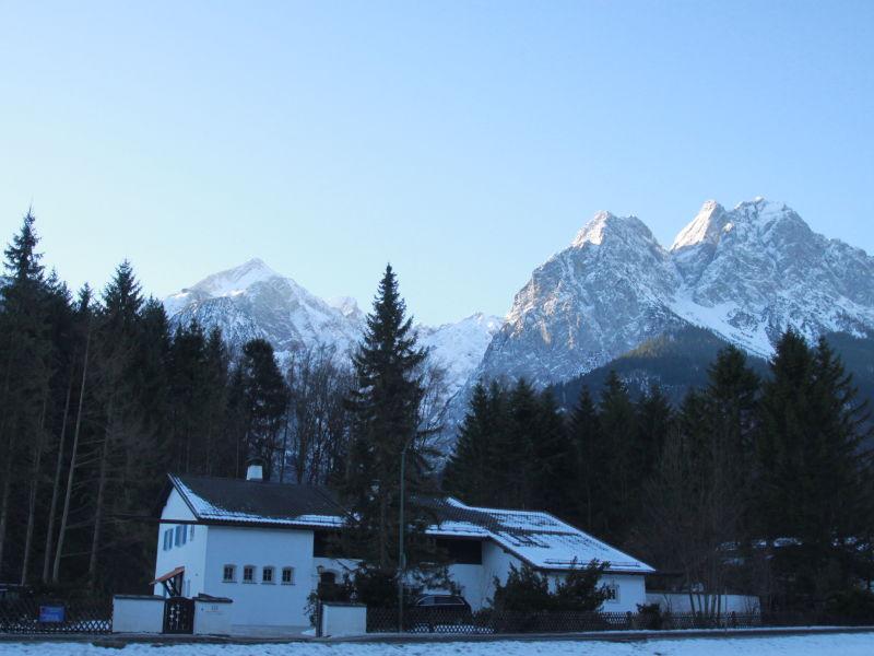 Ferienwohnung Hupfleitenjoch im Haus Zugspitze
