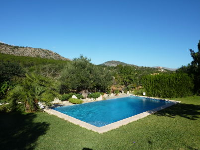 in Pollensa with private pool