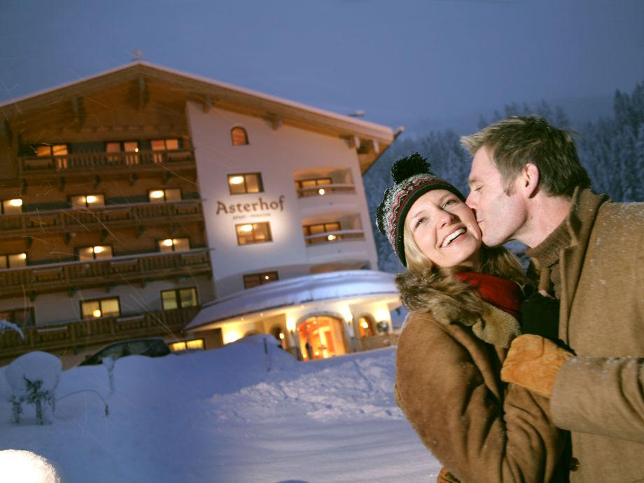 Im Winter direkt vor dem Haus die Skier anschnallen