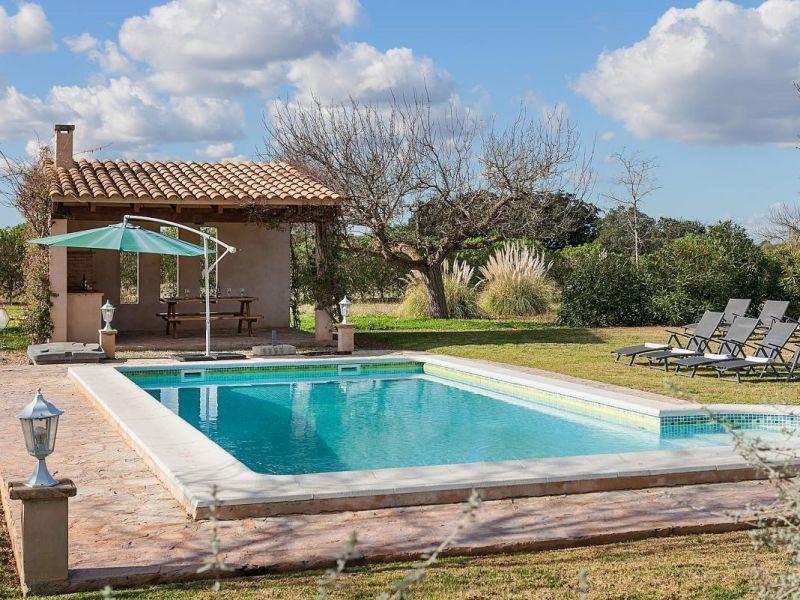 Fincas Mallorca Familienhaus mit Pool für 8 Personen