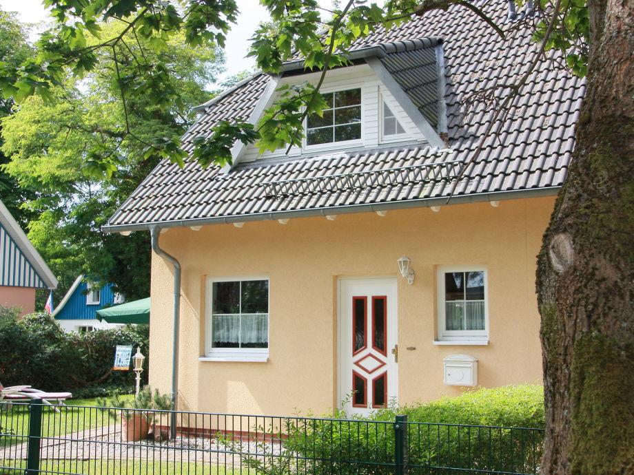 Außenansicht vorne - Ferienhaus Bernstein-Winkel