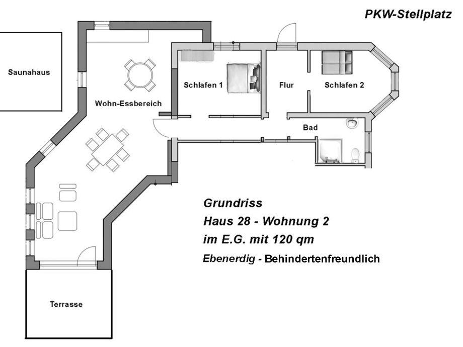 ferienwohnung wohnung nr 2 haus 28 nordseek ste jadebusen dangast firma sch nberg gbr. Black Bedroom Furniture Sets. Home Design Ideas