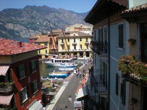 Ferienwohnung am Hafen von Malcesine