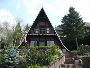 "Ferienhaus ""Finnhütte am Kapitelsberg"""