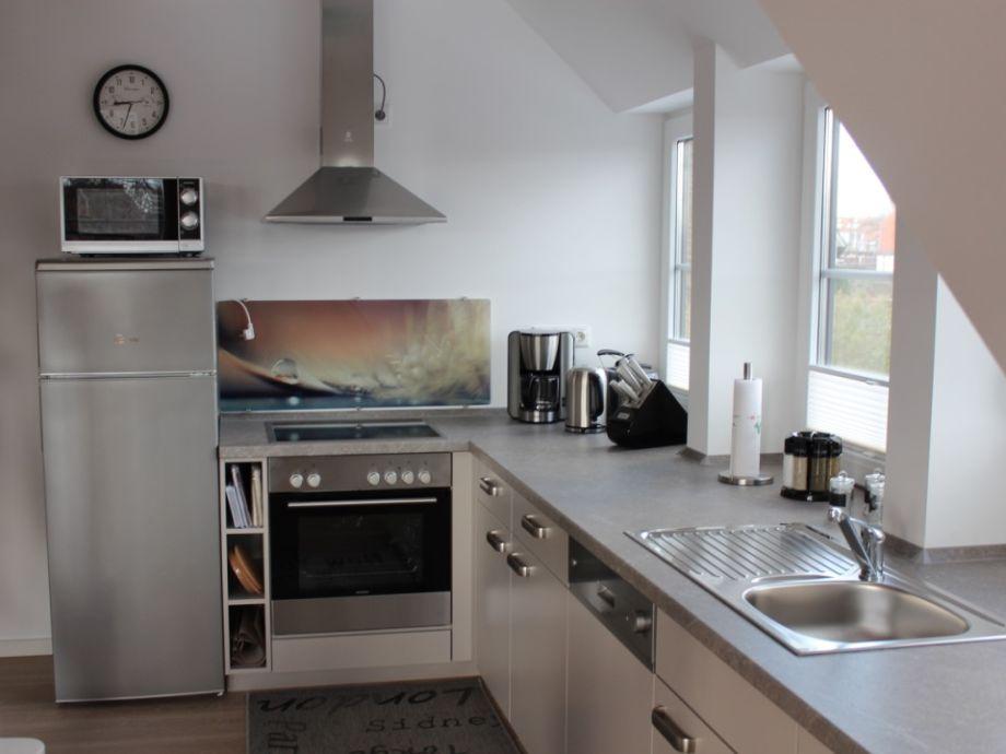 Weiträumiger küchenbereich
