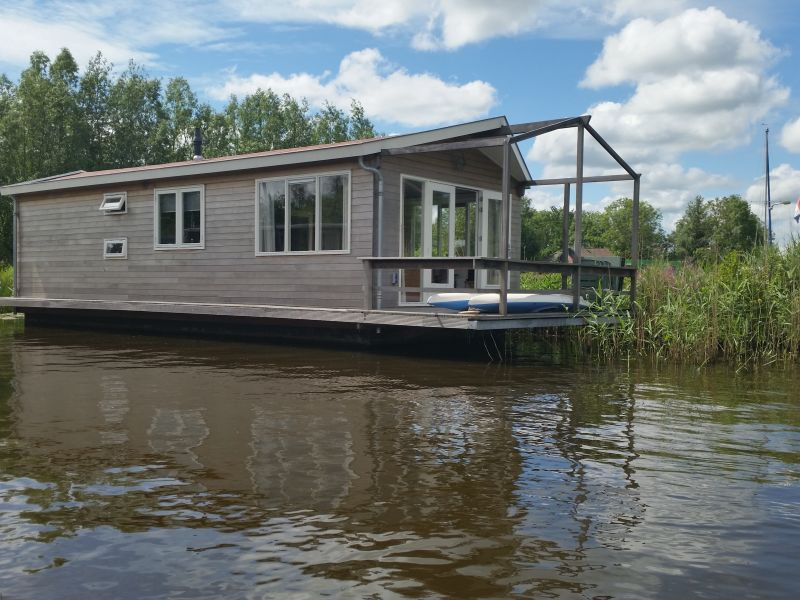 Hausboot Wohnschiff Terherne