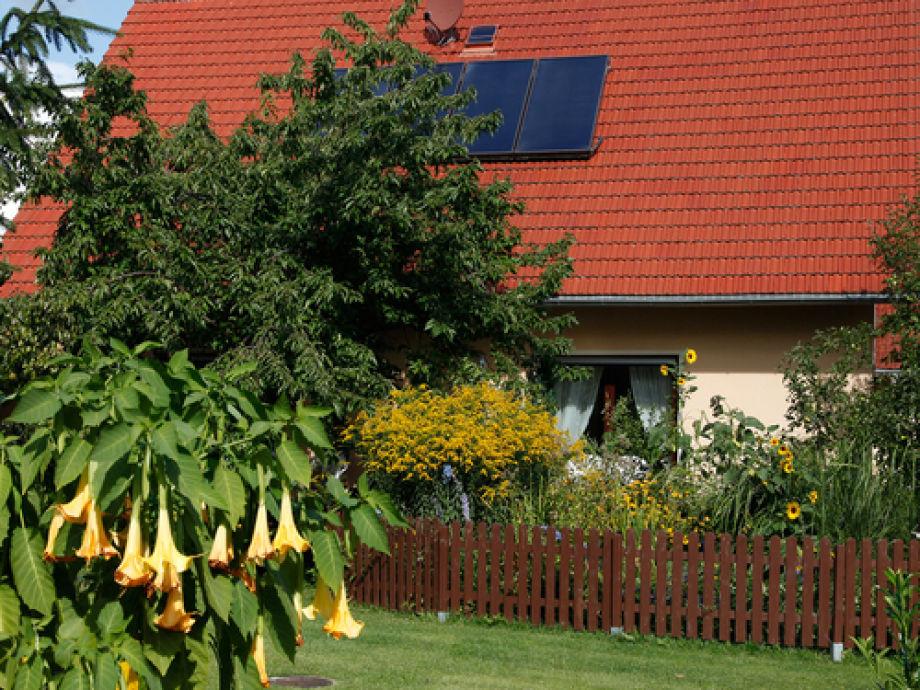 Hausansicht vom Garten