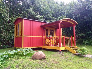 Wohnwagen Zirkuswagen im Landhaus Goldene Gans