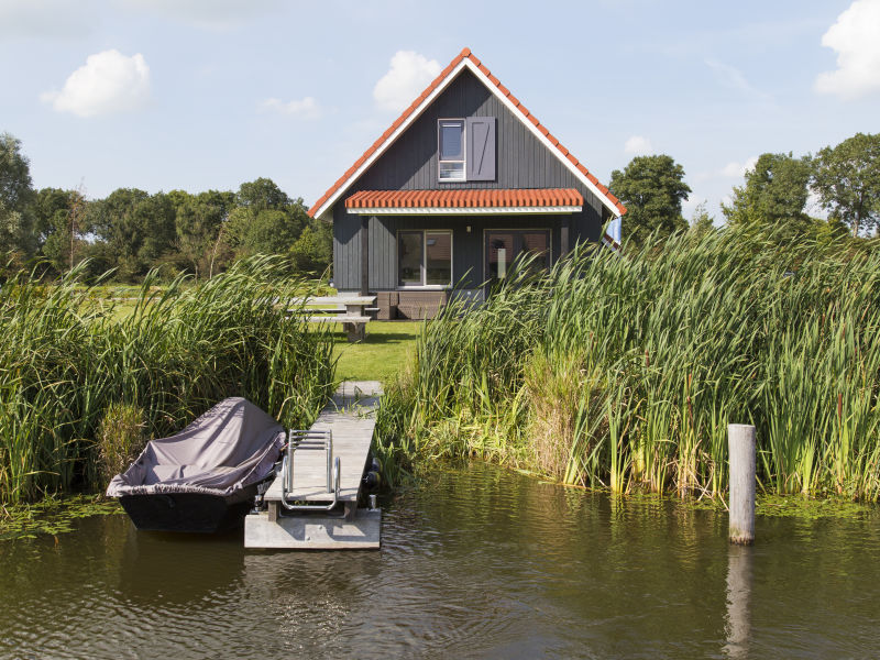 Luxus Ferienhaus 'Zomertaling' am Sneekermeer