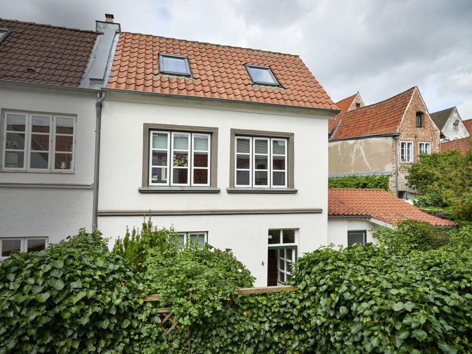 Außenaufnahme Altstadtganghaus Rössger - Haus 4