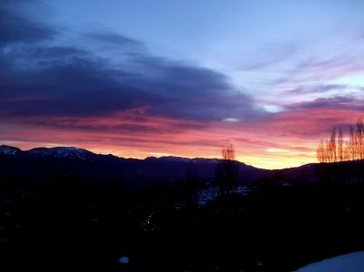 Bellevue (Blick auf die Berge)