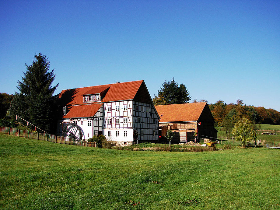 The historic mill from 1717