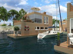 Hausboot Schwimmendes Haus Haus Hygge im OstseeResort Olpenitz