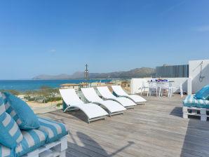 Ferienhaus mit Meerblick und Terrasse Son Serra