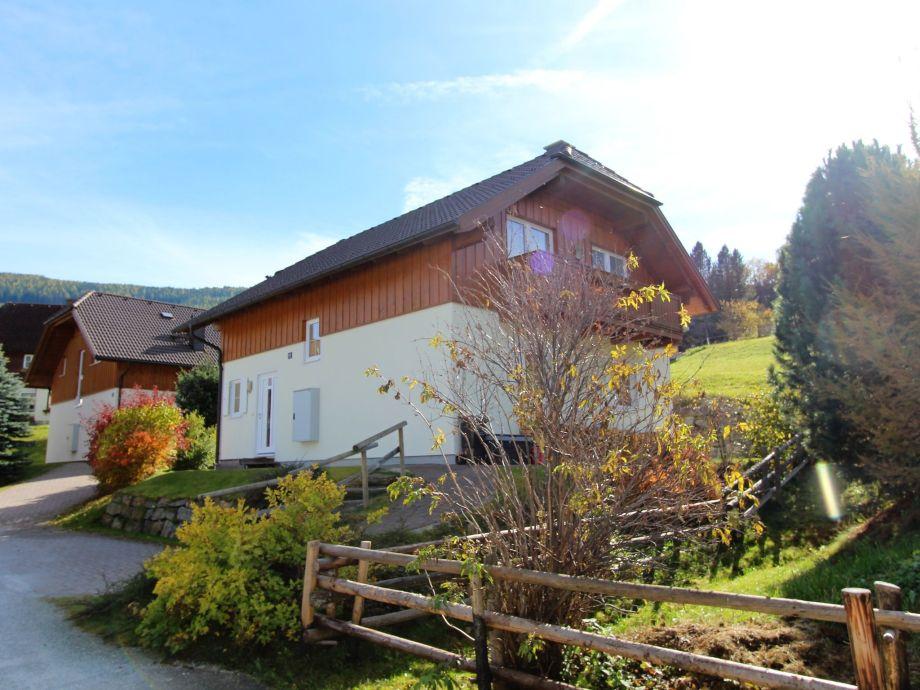Außenaufnahme Chalet Bergblick