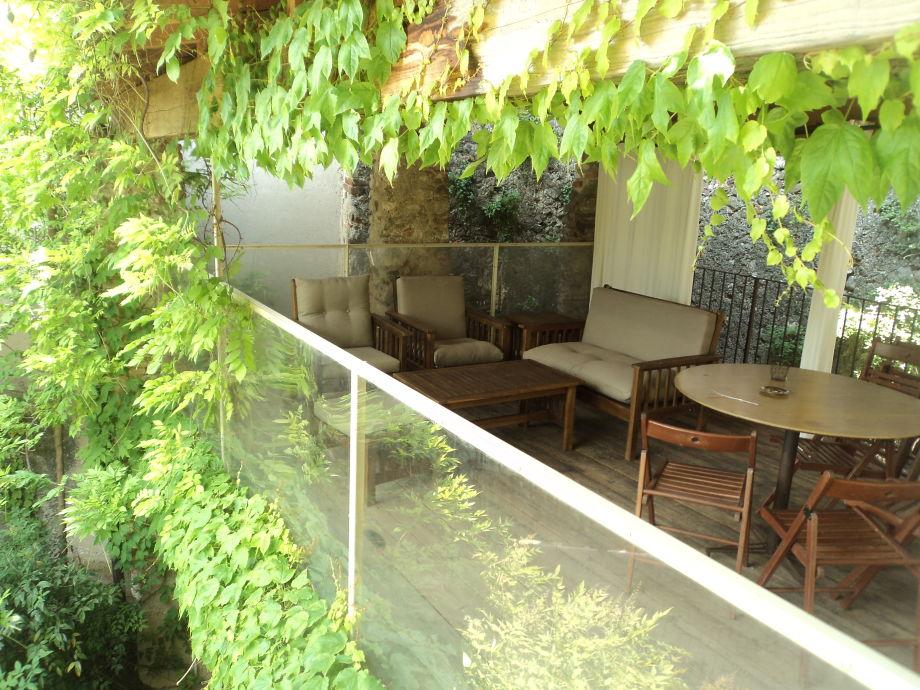 eine der Terrassen