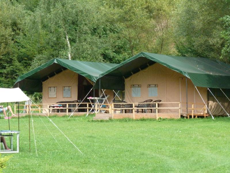 Residenz Camping Bockenauer Schweiz im Glamping Zelt