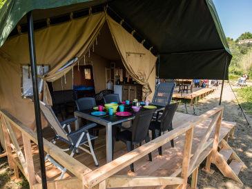 Residenz Camping de Watertoren im Glamping Zelt