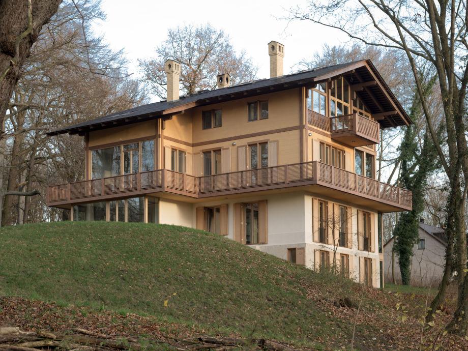 Parkchâlet Potsdam - Zufahrtsseite