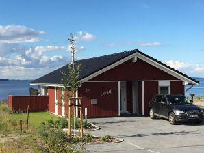 Ferienhaus Jerup mit tollem Wasserblick