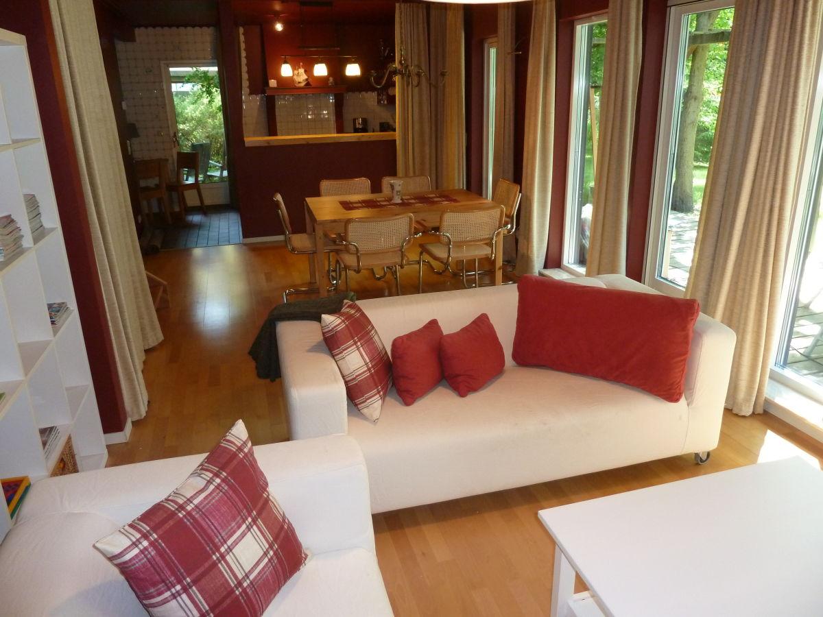 Villa gudrun romantisches ferienhaus mit sauna zingst - Romantisches wohnzimmer ...