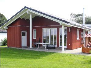 Ferienhaus Fjellerup mit Wasserblick
