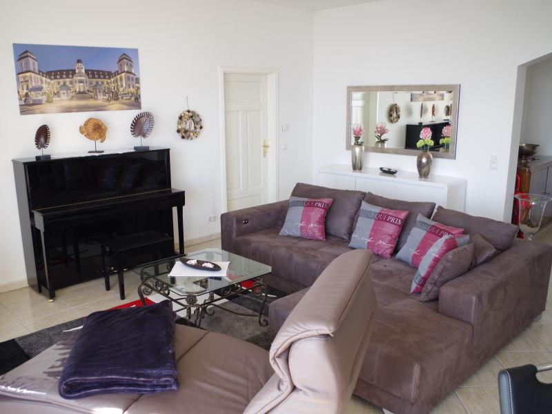 Apartment Penthouse - 1. Reihe am Strand und Meer Haus Atlantic