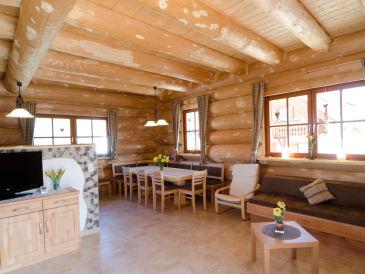 Ferienhaus Naturstammhaus Morgensonne