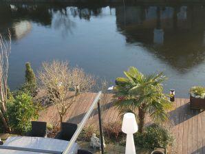 Ferienhaus Alkmaar aan het water